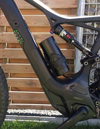 Trail Watts Booster Battery fitted to Specialized e-bike